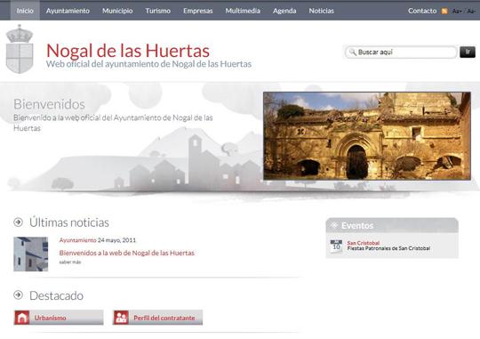 Bienvenidos a la web de Nogal de las Huertas